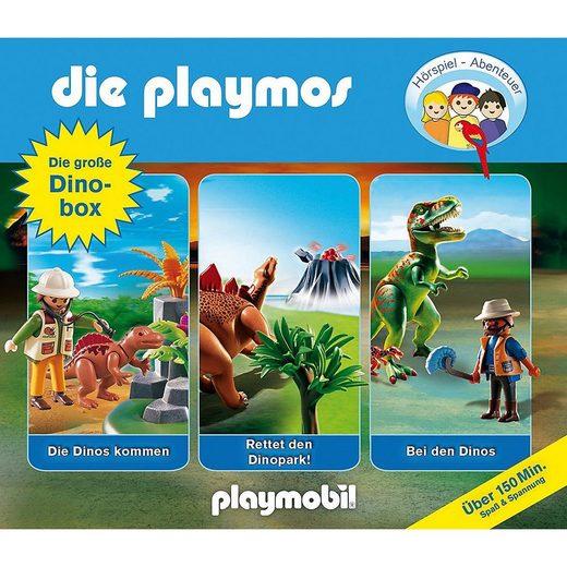 Edel Hörspiel »CD Die Playmos - Die Große Dino-Box«