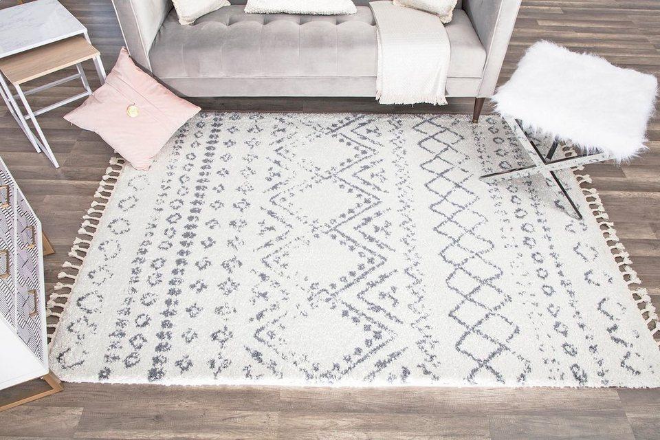 Teppich Mit Fransen : teppich mason shag cosmoliving by cosmopolitan ~ Watch28wear.com Haus und Dekorationen