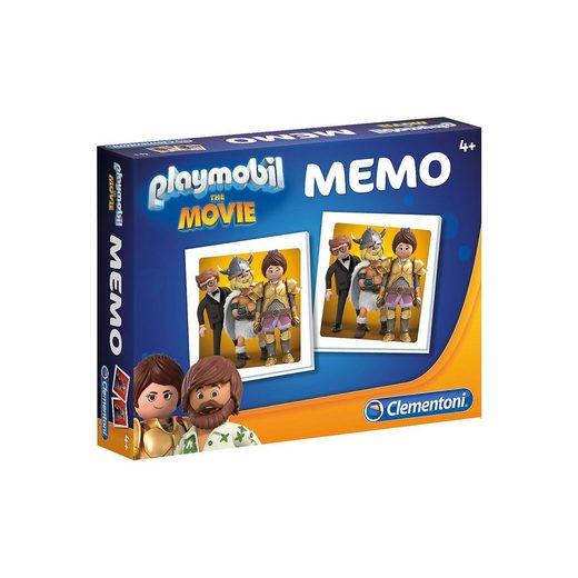 Clementoni® Memo Kompakt Playmobil the Movie