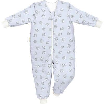 Odenwälder Babyschlafsack »Jersey-Schlafoverall Hopsi, Bienchen grey«