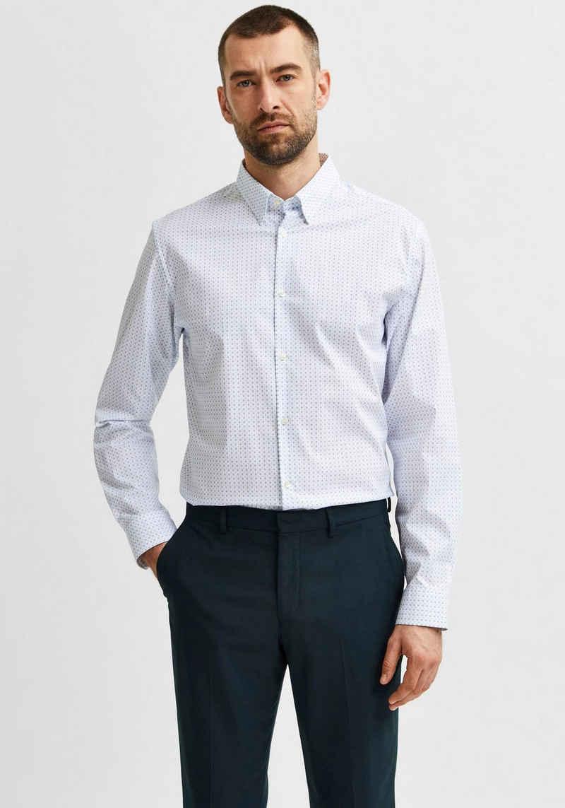 SELECTED HOMME Langarmhemd »MICHIGAN SHIRT«