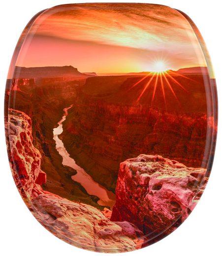 Sanilo WC-Sitz »Grand Canyon«, mit Absenkautomatik