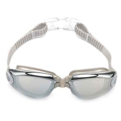 Masbekte Schwimmbrille, Schwimmbrille Einstellbar Taucherbrille UV-Schutz Antibeschlag