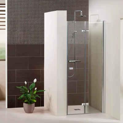 Dusbad Dusch-Falttür »Vital 1 für Nische«, 120x204 cm, Einscheibensicherheitsglas, (1-St) Anschlag rechts 120 cm