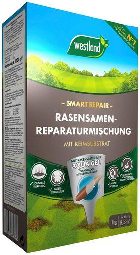 Westland Rasensamen »Smart Repair Reparaturmischung«, 1 kg, mit Keimsubstrat, für ca. 8 m²