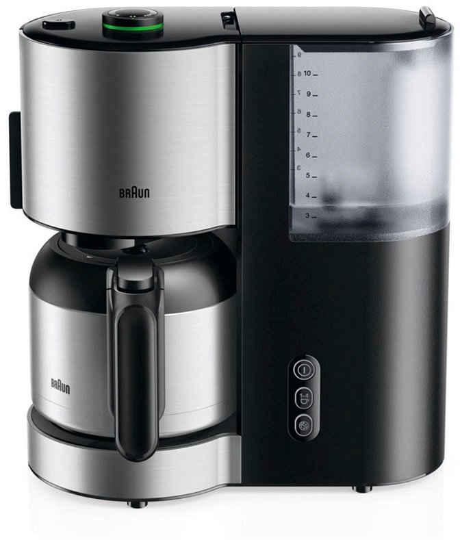 Braun Filterkaffeemaschine ID Collection Kaffeemaschine KF 5105 BK schwarz