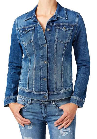 Pepe Jeans Jeansjacke »THRIFT« mit vielen Teilungsnähten für eine optimale Passform