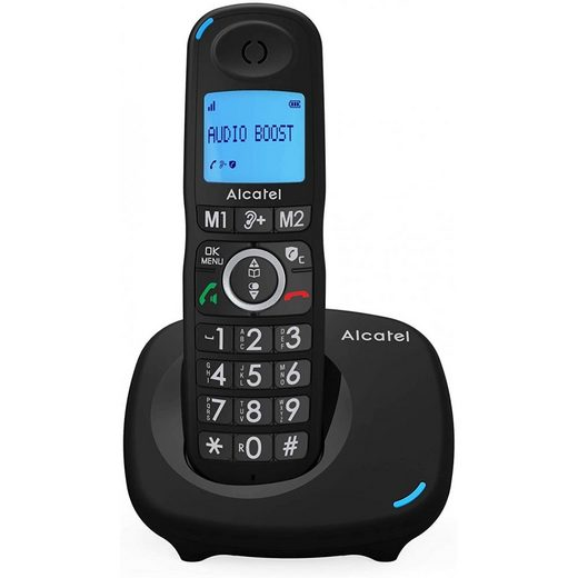 Alcatel »XL595B - Telefon - schwarz« Schnurloses Mobilteil