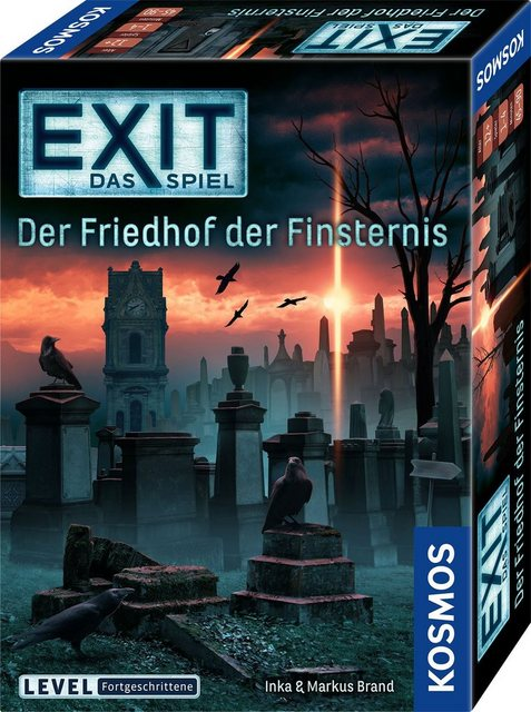 Image of EXIT - Das Spiel - Der Friedhof der Finsternis - Level Fortgeschrittene