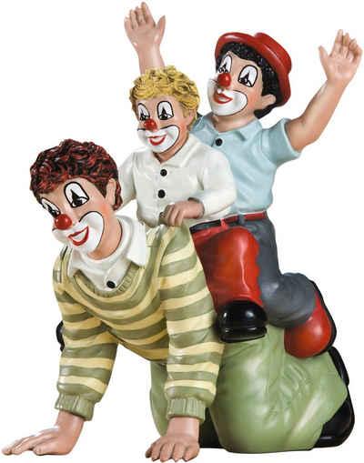 Gildeclowns Sammelfigur »Clown Dekofigur, Der doppelte Reiter« (1 Stück), handbemalt, Wohnzimmer