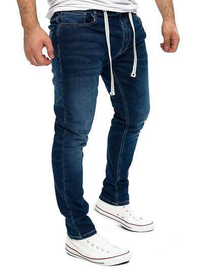 Yazubi Sweatjeans »Jogginghose Herren Jogg in Jeans Steve« Stretch Hose in Jogg Jeans Sweathosen Denim