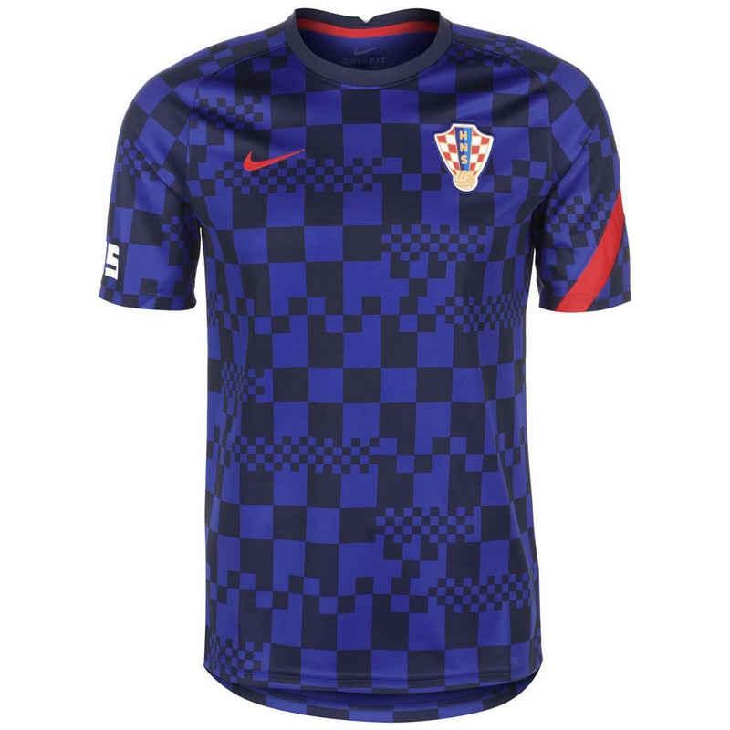 Nike Trainingsshirt »Kroatien Breathe Em 2021«