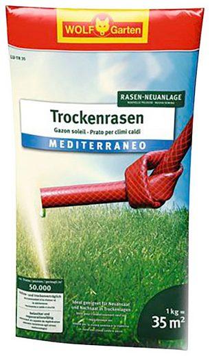 WOLF-Garten Rasensamen »LU-TR 35 Trockenrasen MEDITERRANEO«, 1,0 kg