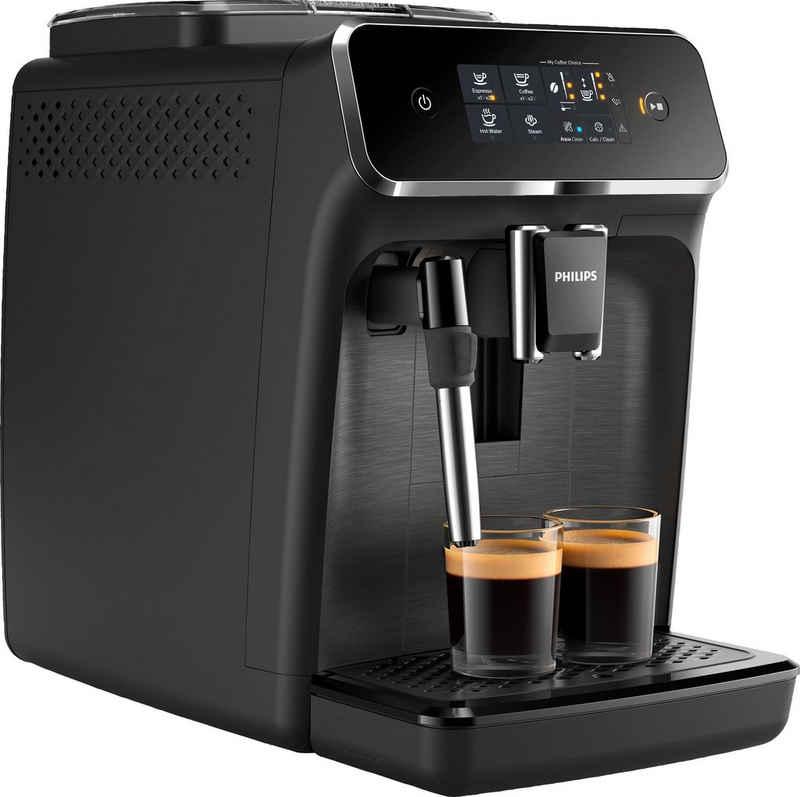 Philips Kaffeevollautomat 2200 Serie EP2220/10 Pannarello, mattschwarz