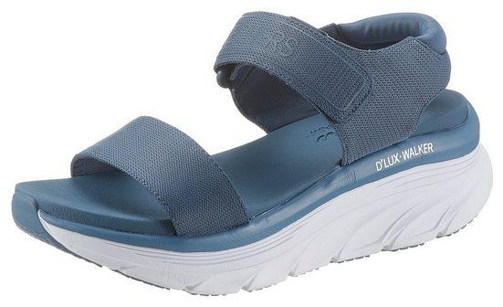Skechers »D´LUX WALKER« Plateausandale mit Luxe Foam