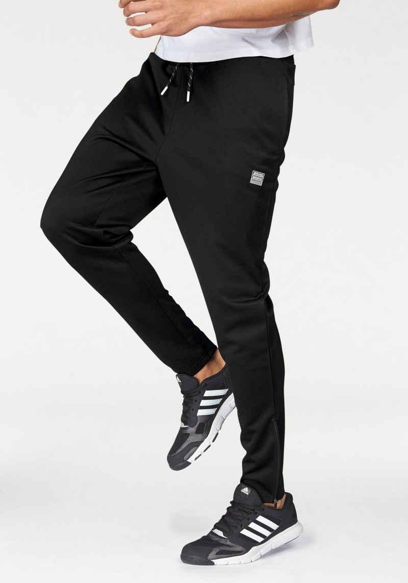 Bruno Banani Trainingshose mit Reißverschluss am Beinabschluss