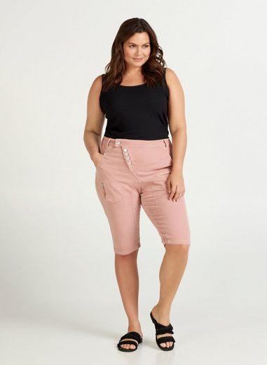 ZAY 3/4-Hose Große Größen Damen Baumwoll 3/4 Hose mit Stretch