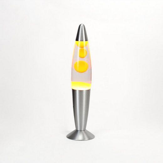 Licht-Erlebnisse Lavalampe »TIMMY Retro Lampe Orange Tischleuchte Lampe«