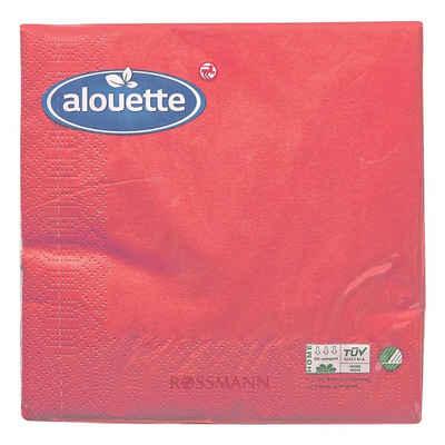 alouette Papierserviette, (30 St), mit umlaufender Prägung