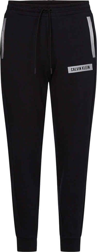 Calvin Klein Performance Jogginghose »PW - KNIT PANTS« mit reflektierenden, kontrastfarbenen Details