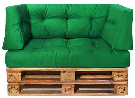 Easysitz Sitzkissen »Palettenkissen Set 4«, Gesteppt für 120 x 80 cm Europaletten