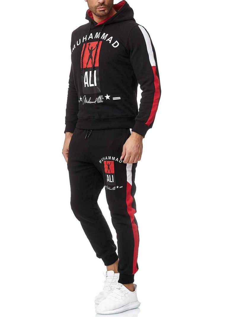 OneRedox Jogginganzug »3462C« (Sportanzug Jogger Trainingsanzug, im modischem Design), Fitness Freizeit Casual