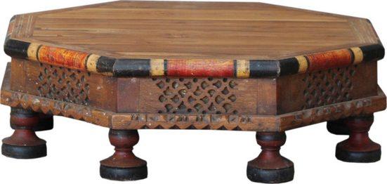 Guru-Shop Couchtisch »Bemalter und verzierter kleiner Tisch,..«