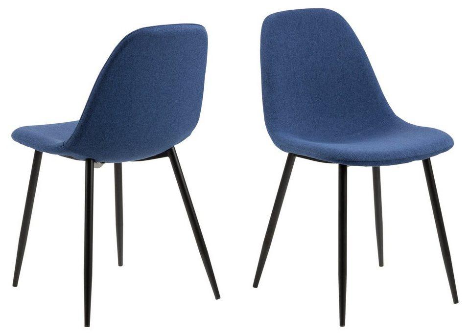 ebuy24 Esszimmerstuhl »4er Set Willy Esszimmerstuhl blau.« online kaufen   OTTO