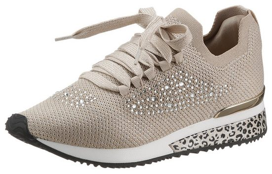 La Strada »Fashion Sneaker« Slip-On Sneaker mit funkelnden Strasssteinen