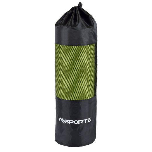 MSports® Gymnastikmatte »MSPORTS Tasche für Gymnastikmatte - Faltbare Premium Bag - hochwertige Qualität - Superleicht - Beutel für Yogamatte«