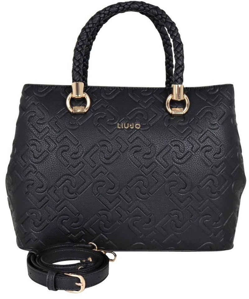 Liu Jo Henkeltasche »Liu Jo Damen Tasche Manh women's handbag NF0022E0538 nero schwarz, Gurt«