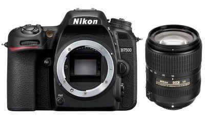 Nikon »D7500 + AF-S DX Nikkor 18-300mm VR 3.5-6.3« Spiegelreflexkamera
