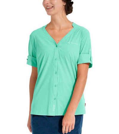 VAUDE Hemdbluse »VAUDE Skomer II Bluse schnell trocknende Damen Wander-Bluse Freizeit-Shirt Mint«