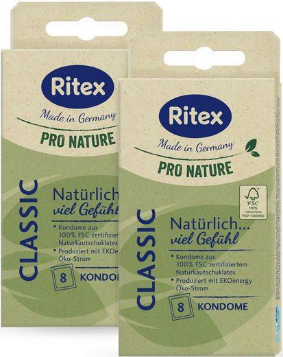 Ritex Kondome »Pro Nature Classic« Packung, 16 St.