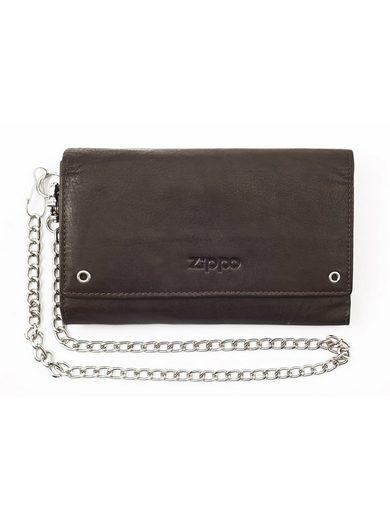 Zippo Geldbörse »Brieftasche mocca«, Kreditkartenfächer
