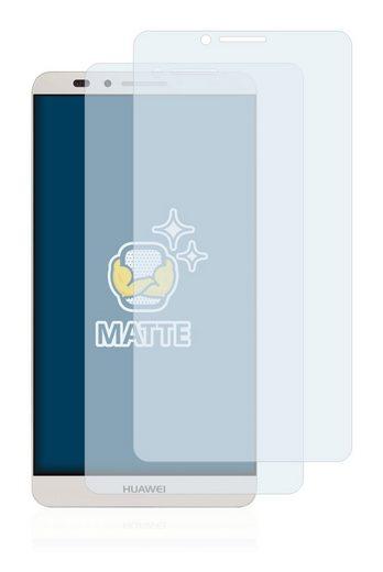 BROTECT Schutzfolie »für Huawei Ascend Mate 7«, (2 Stück), Folie Schutzfolie matt entspiegelt