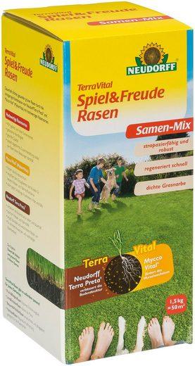 Neudorff Rasensamen »TerraVital Spiel&Freude«, 1,5 kg