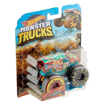 Mattel® Spielzeug-Monstertruck »Mattel GNJ62 (GJF05) - Hot Wheels - Monster Trucks - Die-Cast Fahrzeug, 1:64, Demo Derby«