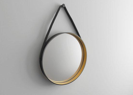 TALOS Badspiegel »Golden Style«, Ø 55 cm, runder Spiegel ohne Beleuchtung
