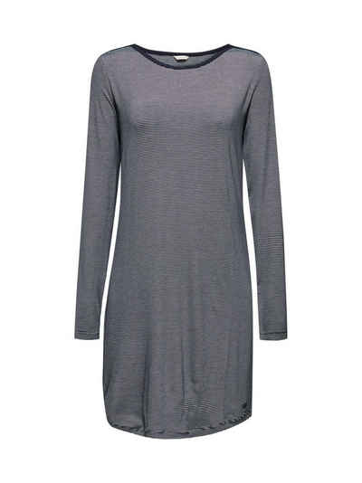 Esprit Nachthemd »Jersey-Nachthemd mit Streifen«