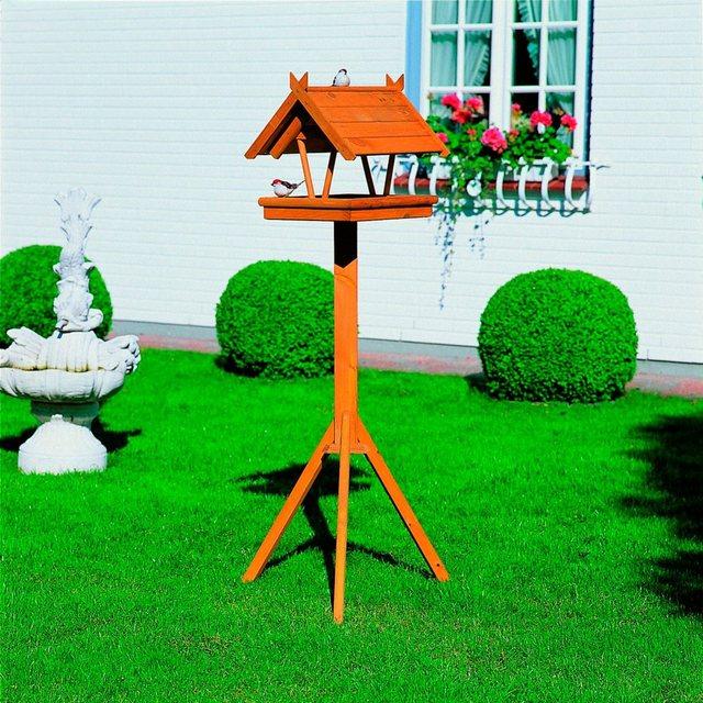 PROMADINO Set: Vogelhaus Rhön, mit Standbein, B/T/H: 36/41,5/141 cm