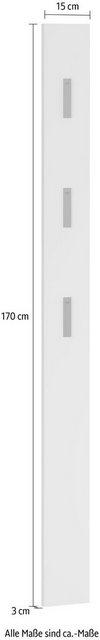 Garderobenleisten und Haken - GERMANIA Garderobenpaneel »Utah« (1 Stück), Breite 15 cm  - Onlineshop OTTO