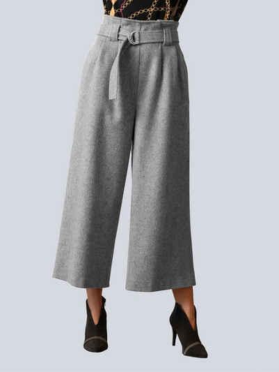 Alba Moda Culotte ausgepflegter, leicht wolliger Ware
