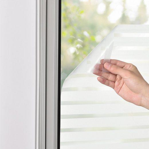Fensterfolie, casa.pro, blickdicht, strukturiert, Sichtschutz in verschiedenen Größen und Ausführungen