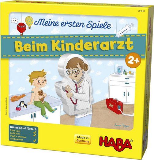 Haba Spiel, »Meine ersten Spiele - Beim Kinderarzt«, Made in Germany