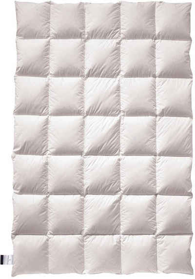 Daunenbettdecke, »ZIRBA Down«, billerbeck, Füllung: 90% Daunen, 10% Federn, Bezug: Baumwolle, natürliche Schlafgenuss mit Zirbenholzflocken