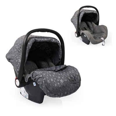 Moni Babyschale »Babyschale Gala Premium, Gruppe 0+«, 2.7 kg, (0 - 13 kg), Fußabdeckung, Sitzpolster