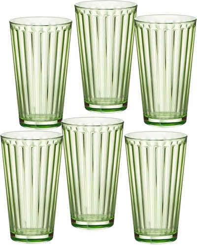 Ritzenhoff & Breker Longdrinkglas »Lawe«, Glas, topaktuelles Innen-Facettierung