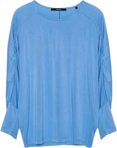 someday Oversize-Shirt »Kiyuni« mit Raffung an den Fledermausärmeln