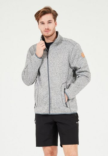 WHISTLER Fleecejacke »Sampton M Melange Fleece Jacket« aus schnell trocknenden Materialien
